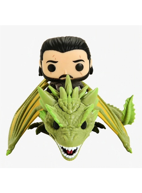 Funko POP! Jon Snow sur Rhaegal - Game of Thrones