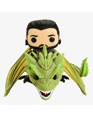 Funko POP! Jon Snow with Rhaegal - Game of Thrones