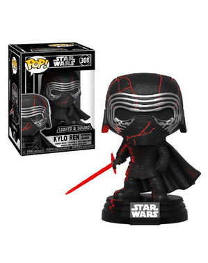 Funko POP! Kylo Ren with light and sound - Star Wars: The Rise of Skywalker