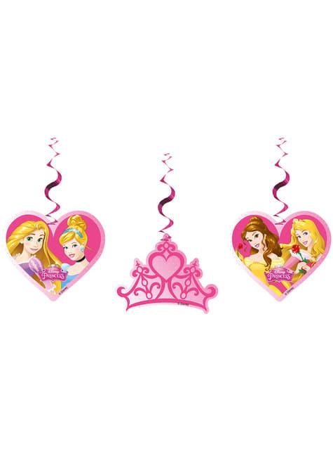 3 Princess Dreaming Cut-Outs