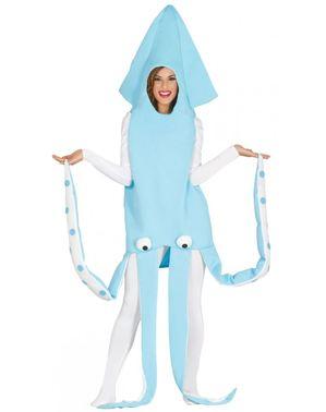 Kostým pro dospělé oliheň modrý