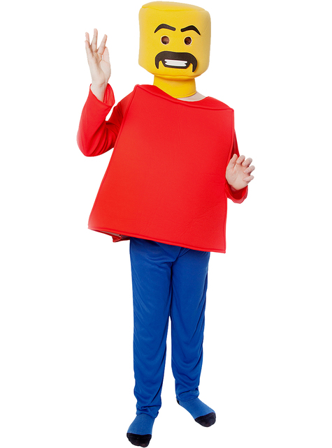 Blokkenhoofd kostuum voor kinderen