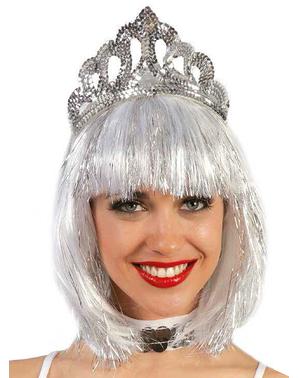 Zilverkleurig kroontje