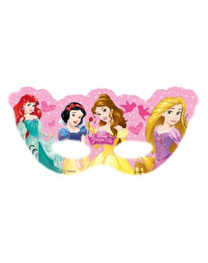 6 kpl Unelmoivat Prinsessat -naamioita