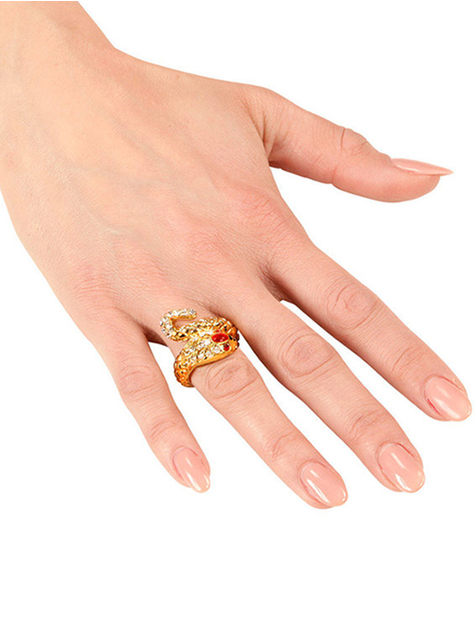 Woman's Gold Snake Ring