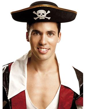 Kapelusz pirata dla dorosłych
