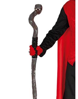 Rozkládací hůl ve tvaru hada pro dospělé