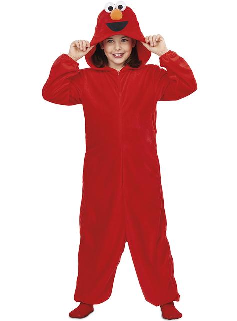 Sesame Street Elmo Onesie Costume for Kids