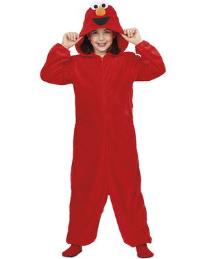 """Детски костюм onesie на Елмо– """"Улица Сезам"""""""