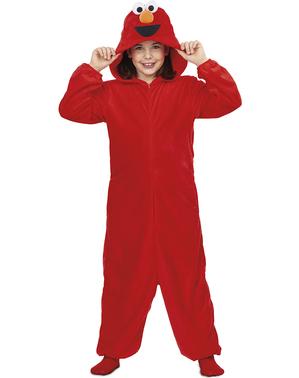Elmo Sesamstraße Onesie Kostüm für Kinder