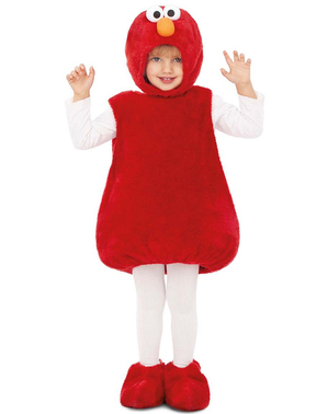 "Детски костюм на Елмо– ""Улица Сезам"""