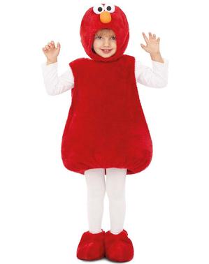 Fato de Elmo Rua Sésamo infantil