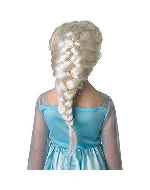 Perücke von Elsa aus Frozen