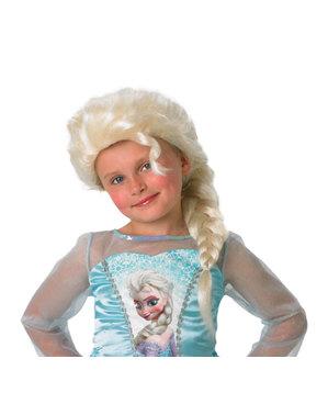 Parrucca Elsa Frozen bambina