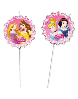 6 Princess Dreaming Straws