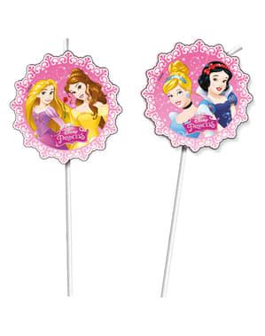 Zestaw 6 słomek Princess Dreaming