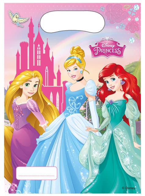 6 bolsas para chucherías Princess Dreaming