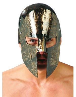 Capacete de espartano