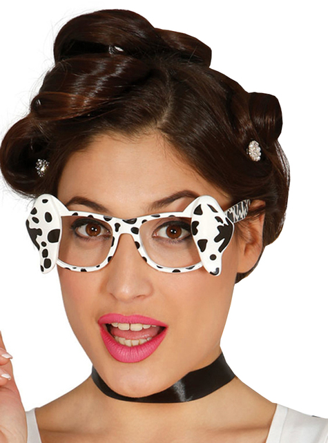 Adult's Dalmatian Sunglasses