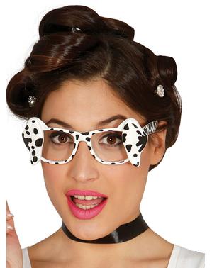 Óculos de dálmata para adulto