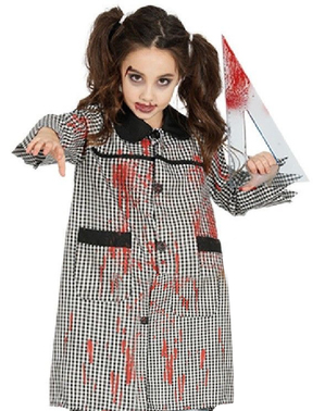 Kids Zombie Playschool Overalls