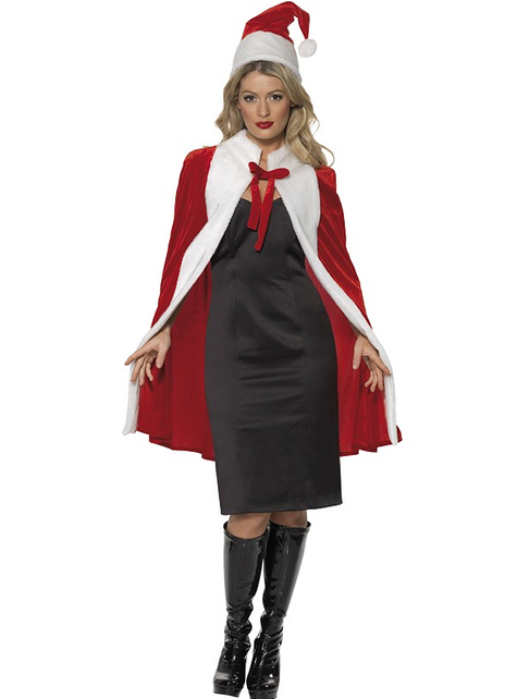 Luxe Mrs Claus cape