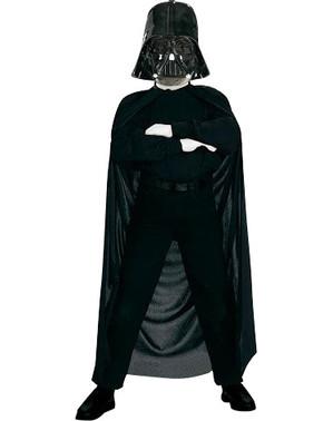 Conjunto máscara e capa Darth Vader para menino