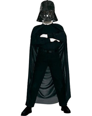 Kit Maschera e mantella Darth Vader da bambino