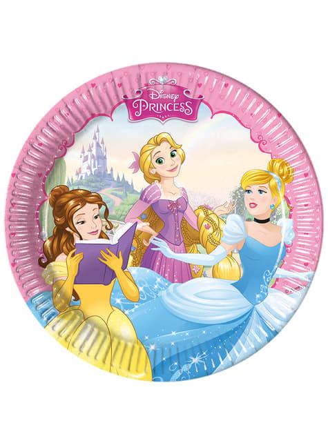 Conjunto de 8 pratos Princess Dreaming