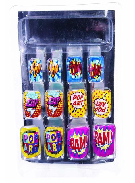 Women's Pop Art Nails