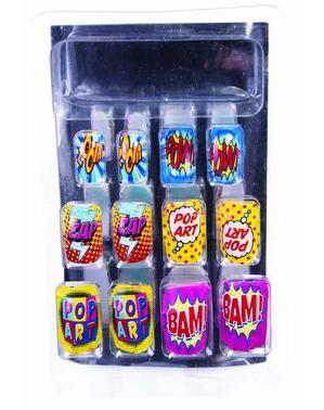 Uñas Pop Art para mujer