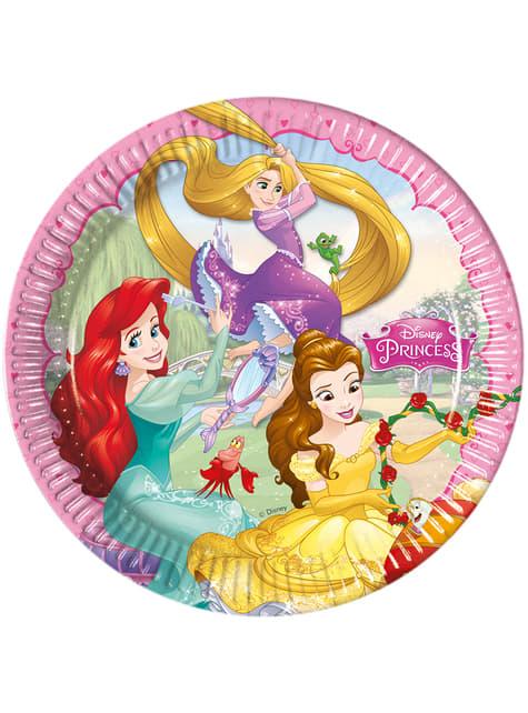 8 platos Princess Dreaming (23 cm)