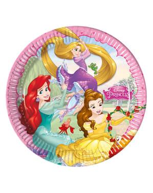 8 kpl Unelmoivat Prinsessat -lautasia