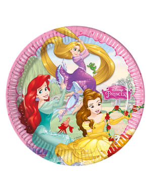 8 Princess Dreaming Plates (23 cm)