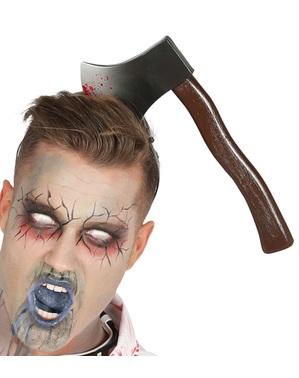Голова зламаний сокирою головного убору