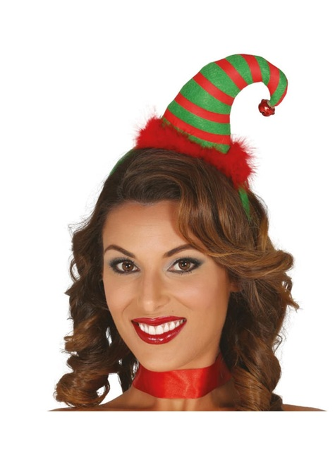 Christmas elf hat headpiece