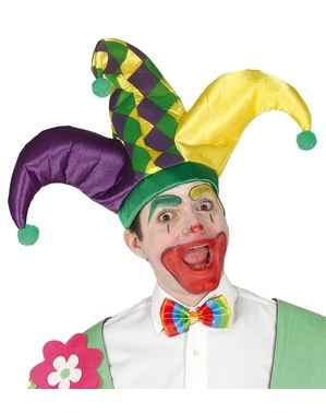 Court jester hat for adults