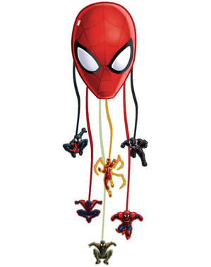 Web Warriors Ultimate Spiderman piñata