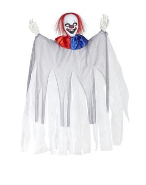Finsterer Clown Hängefigur