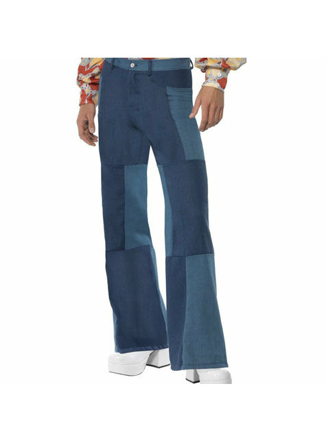Mens Flare Trousers