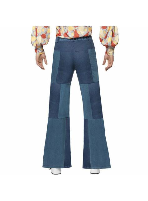 Spodnie dzwony męskie