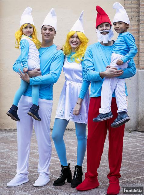 Fato de Smurf