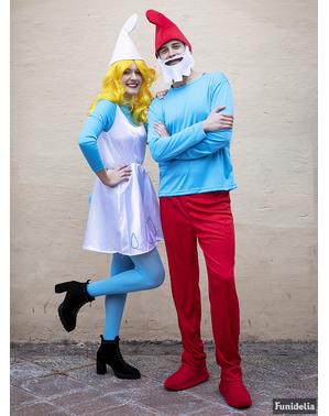 Papa Smurf kostyme