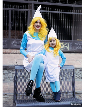 Smurfette服装 - 蓝精灵