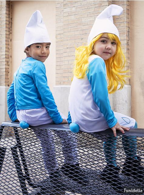 Schlumpfine Kostüm für Mädchen