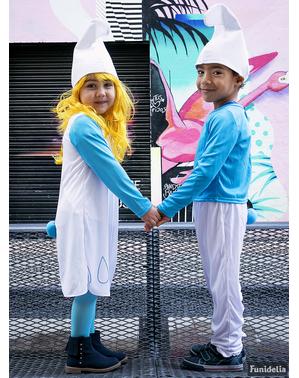 Šmoulí čepice pro děti
