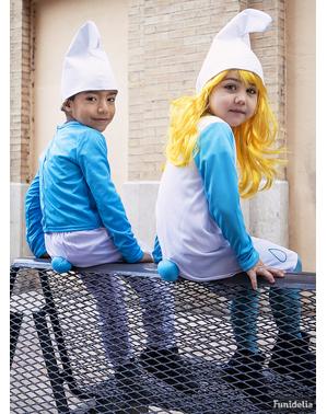 Maskeraddräkt Smurf för barn