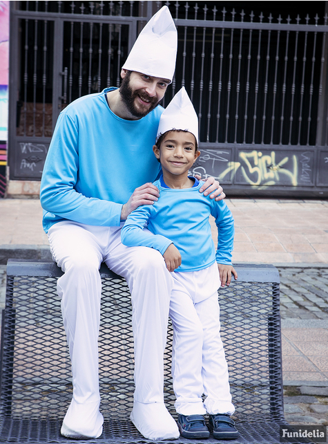 Fato de Smurf para menino
