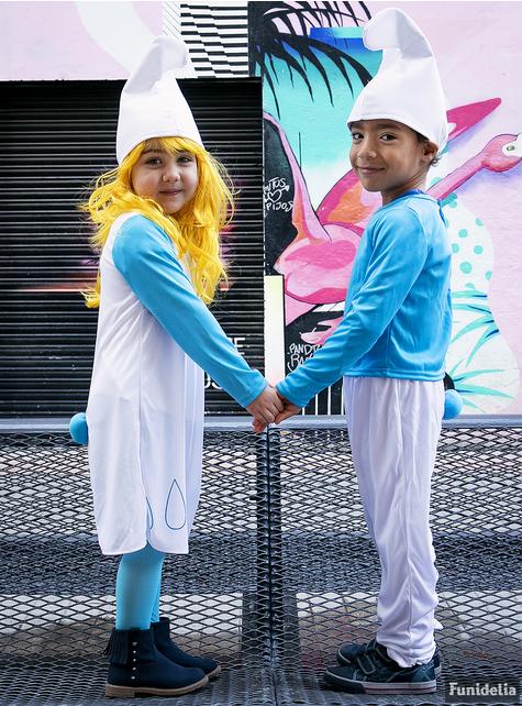 Strój Smurf dla dzieci
