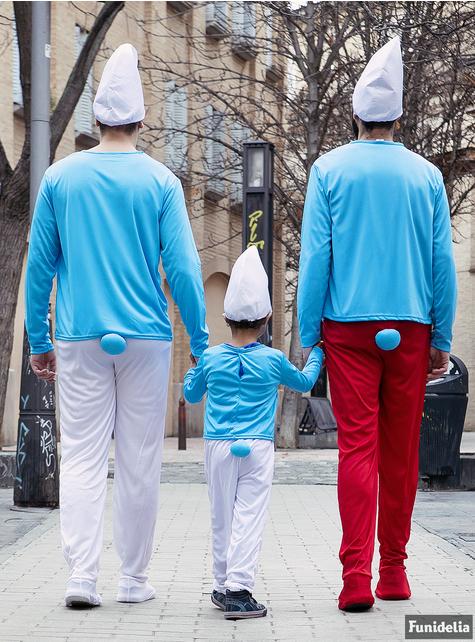 Disfraz de Pitufo para niños